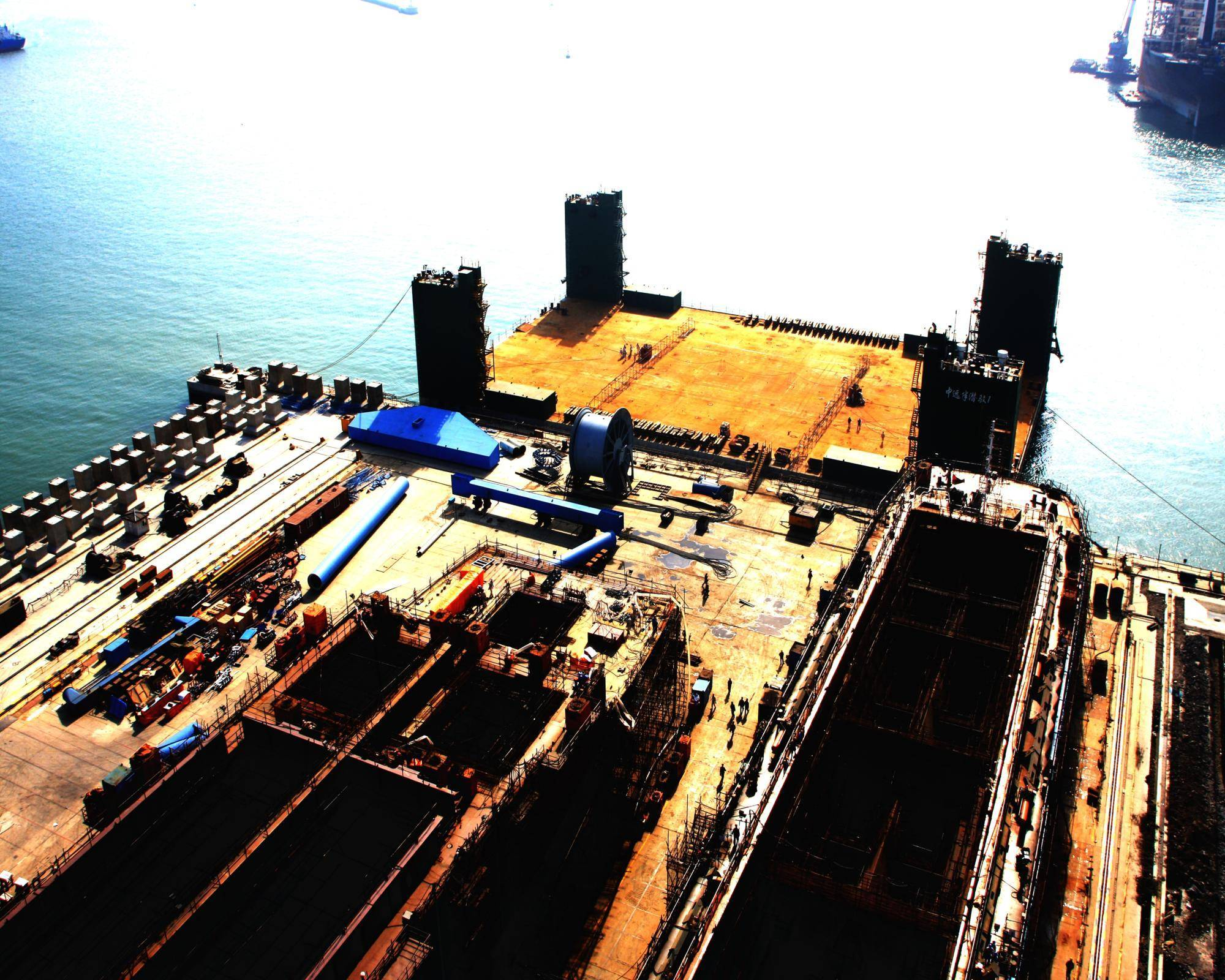 12000TLC FLOATING LAUNCHING DOCK FOR SALE