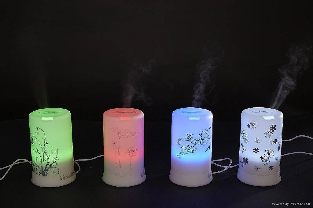 Mini USB Diffuser Comptuer Car Aroma Diffuser Air Purifier USB Spa with Led Light