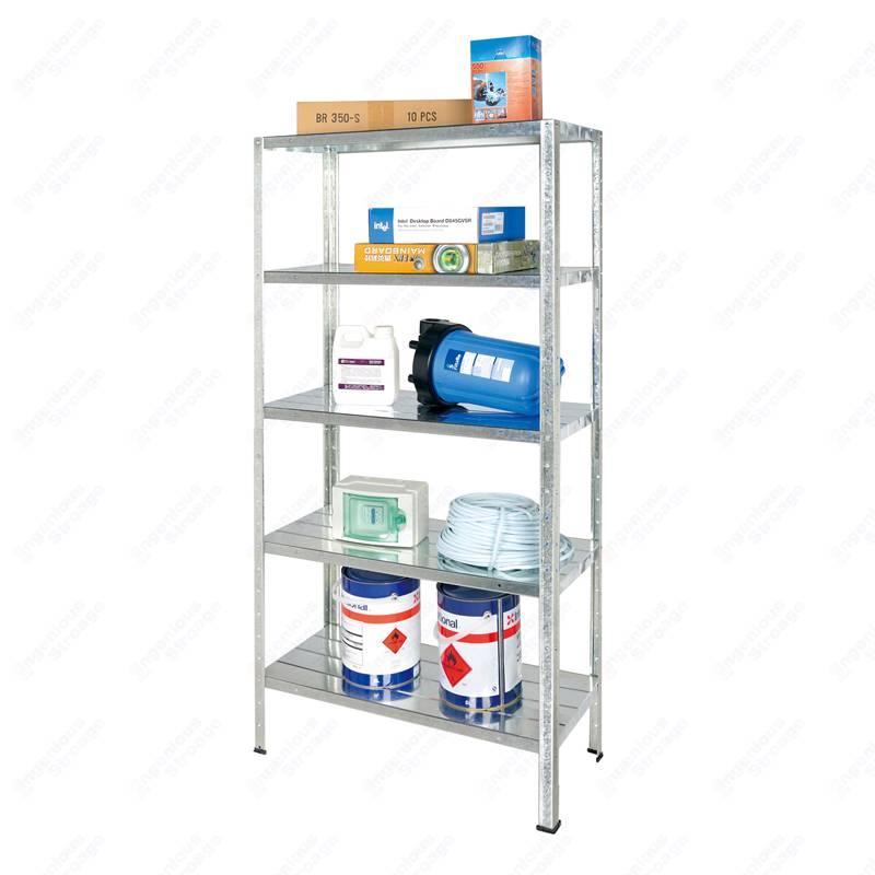 5 Shelf Metal Storage Unit