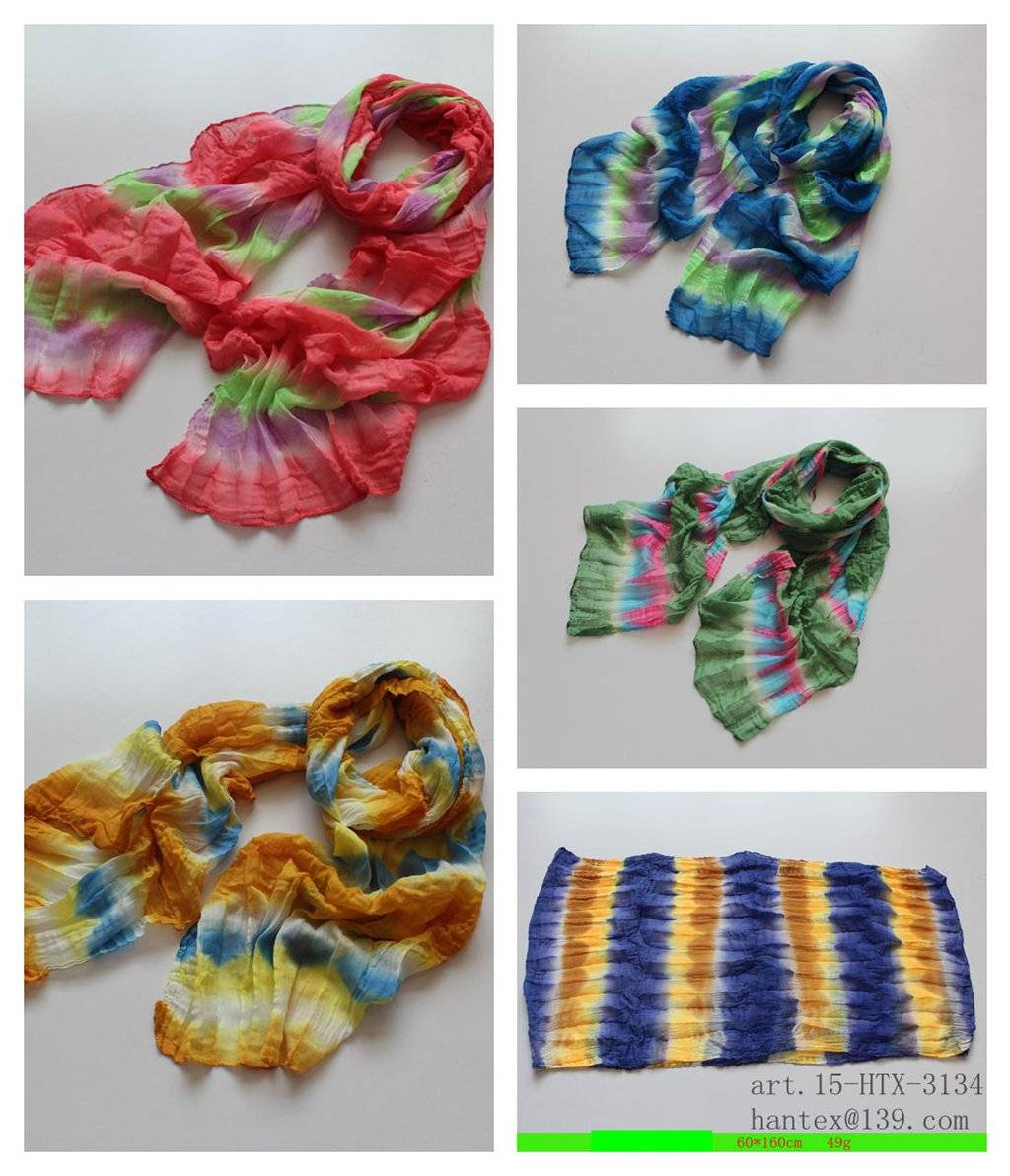 ladies' printed spring scarf
