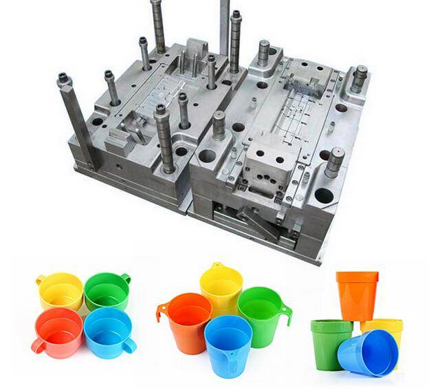 Plastic Cup Mould with Hasco&DME Standard Mould Base tooling mold