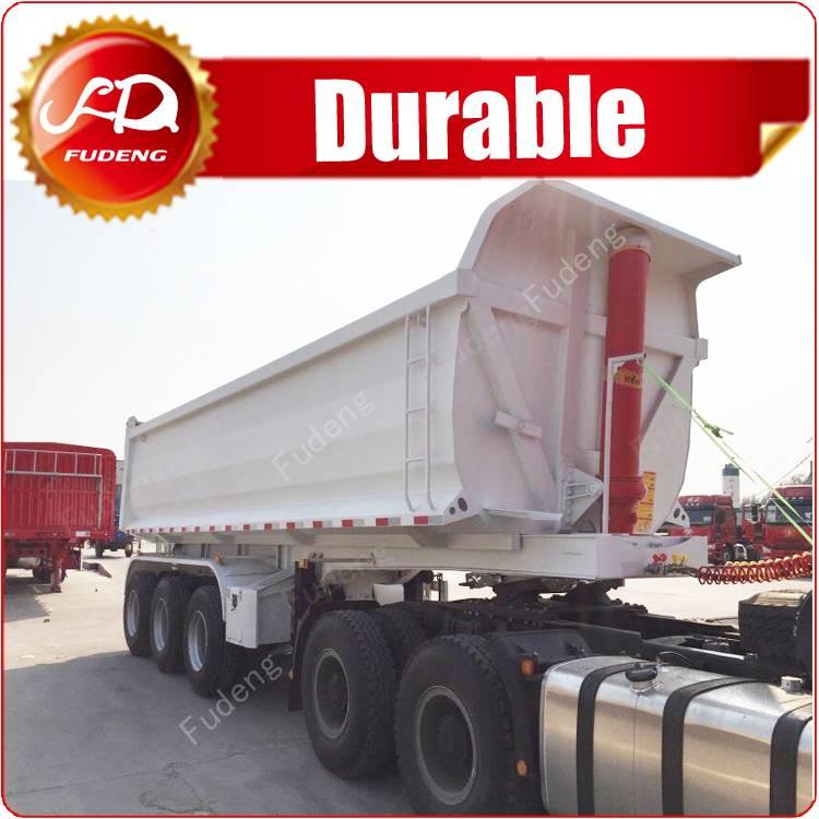 Tipper 3 axle trailer, box truck trailers, dump trailer for sale