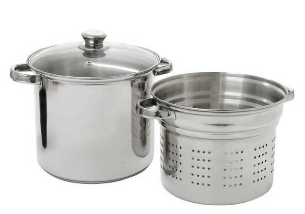 Stainless steel pasta pot 3pcs