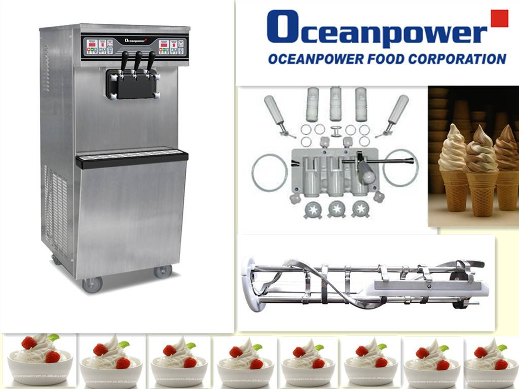 2012 Spring Canton Fair newest Frozen Yogurt Machine OP865C
