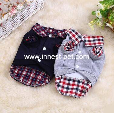 pet clothes, dog clothes, dog polo shirt for winter
