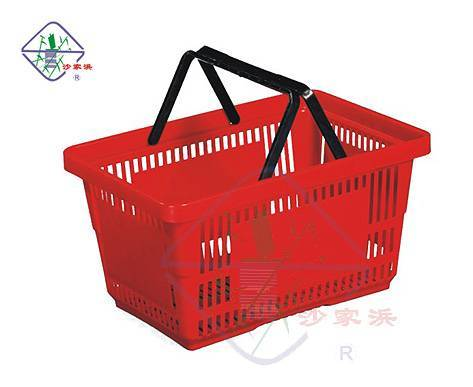 superfine plastic shopping basket/plastic shopping basket/shopping basket/basket