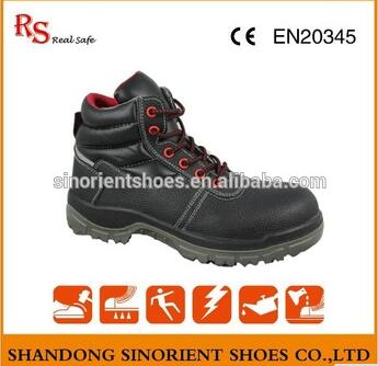 Slip resistant safety shoes good quality heated work boots RS012