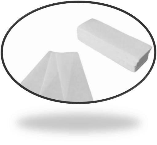 Salon Supply Store 100 Pack Depilatory Nonwoven Salon Spa Wax Strip