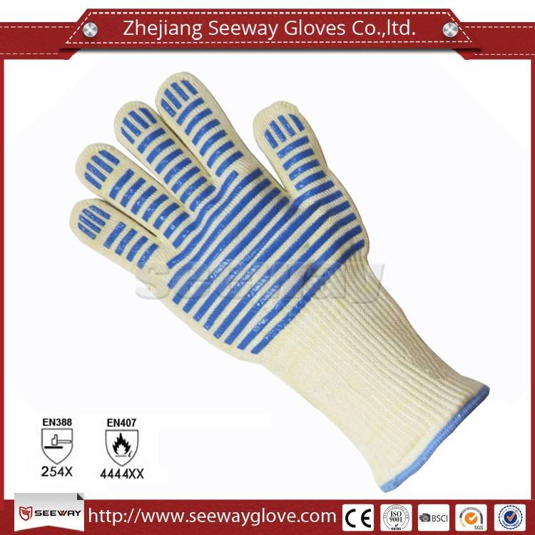 Seeway hot sale for bakery barbecue 932F heat resistance oven gloves