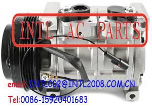 DENSO 10S13C auto AC COMPRESSOR Suzuki Grand Vitara XL-7 XL7 4PK PV4 pulley 95200-65DC1 95200-65DF1
