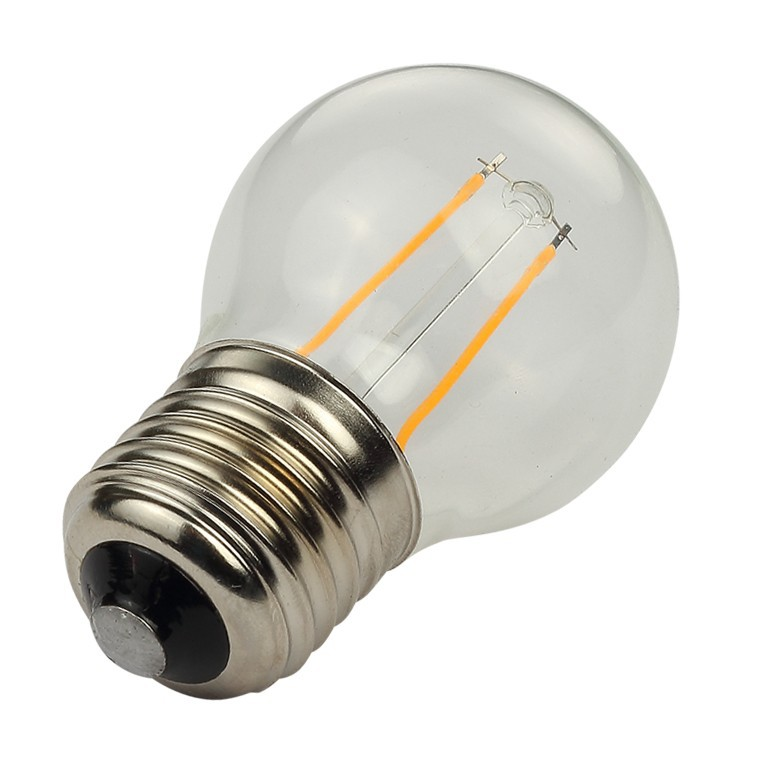 G45 2W 4W LED filament bulb with CE& RoHS