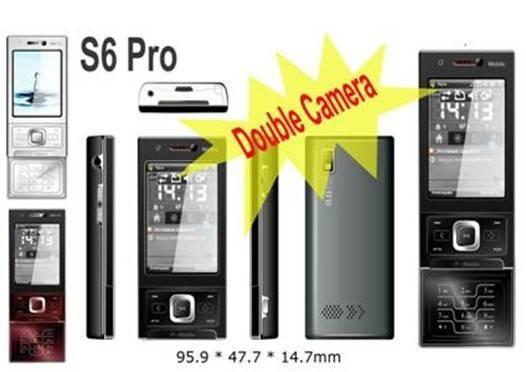 Slide Phone S600 Dual Sim TV Cellular Phone