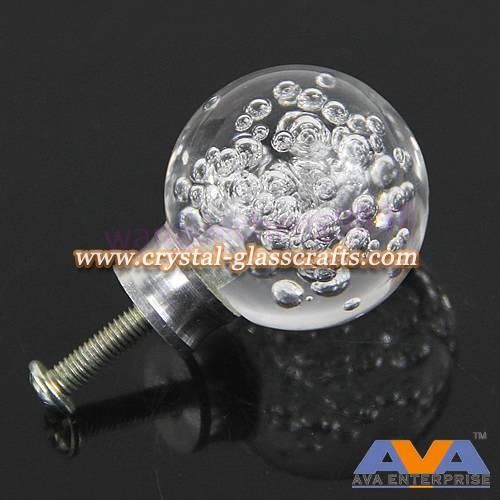 Fashionable custom acrylic furniture door handle knob
