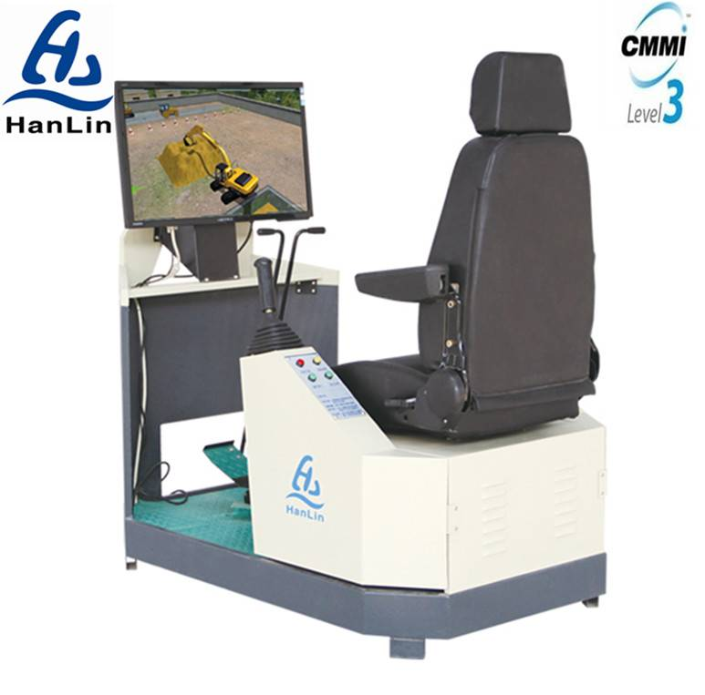 Construction machinery operator training simulator