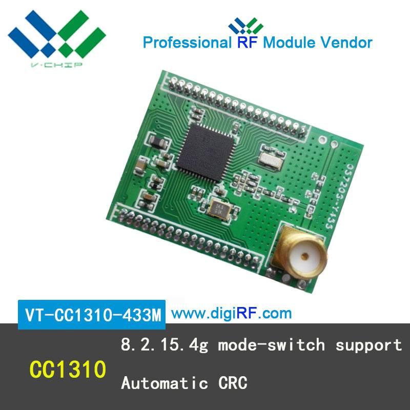 433mhz RF wireless transceiver module cc1310