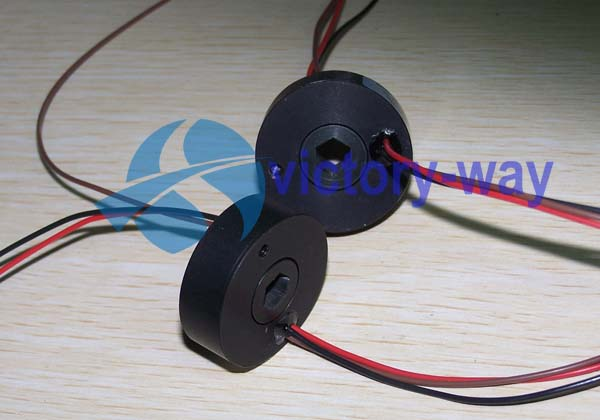 Miniature Through Bore Slip Ring for Cable Reels/Detector
