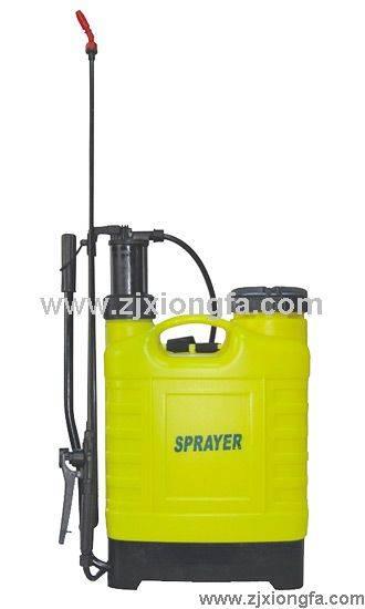 plastic sprayer and hand knapsack sprayer and petrol valve
