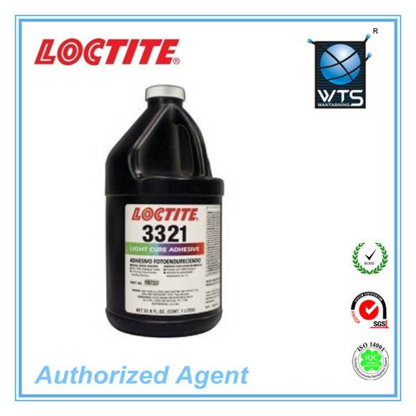 LOCTITE 3321 UV Visible light cure adhesive, 1000ml