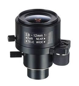 3.0 Megapixel 2.8-12mm CCTV Lens