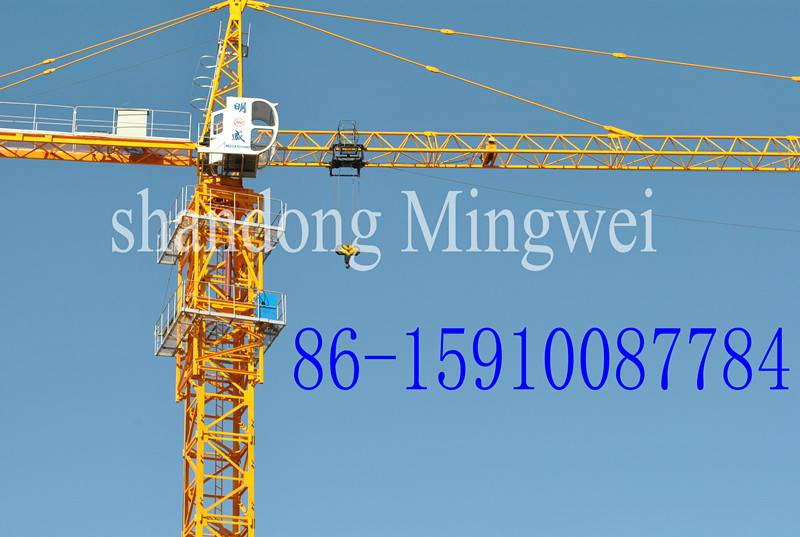 Tower Cranes Qtz80 (TC5512) Maximum Load Capacity Is 8t/Tip Load: 1.2t/Boom: 55m