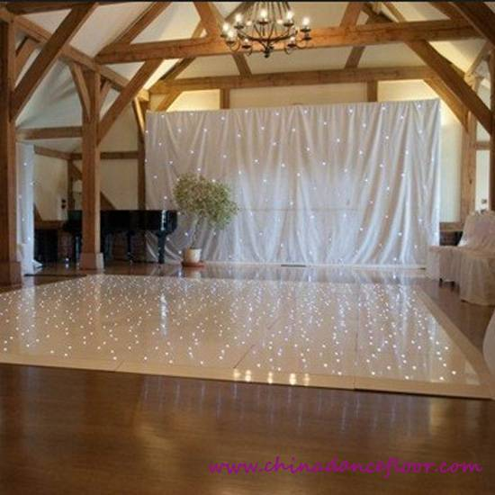 Tourgo 2015most Popular Starlit LED Dance Floor for Wedding Party Stage Star Twinkling