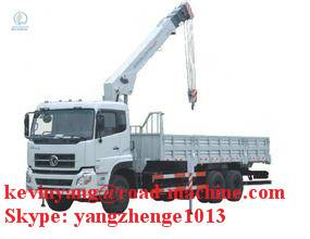 15T truck mounted crane for construction
