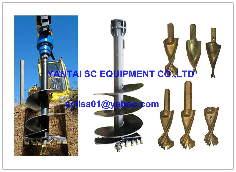 earth auger drill bits, teeth for earth digger