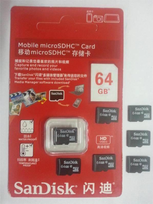Micro SD Card 64GB 32Gb 16Gb 8Gb 4Gb