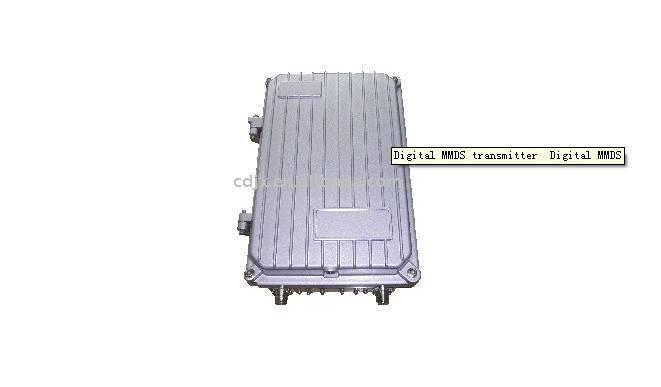 Digital MMDS transmitter