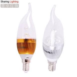 3W E14 LED candle bulb lamp 220V ,chandelier led amusement light bulbs
