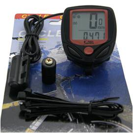 14 functions cycling odometer