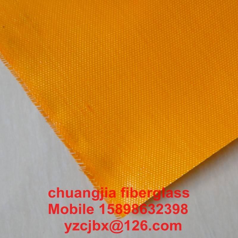 PVC coated fiberglass fabrics