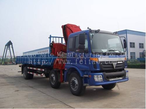 FEITAO 15T truck mounted crane-folding arm crane
