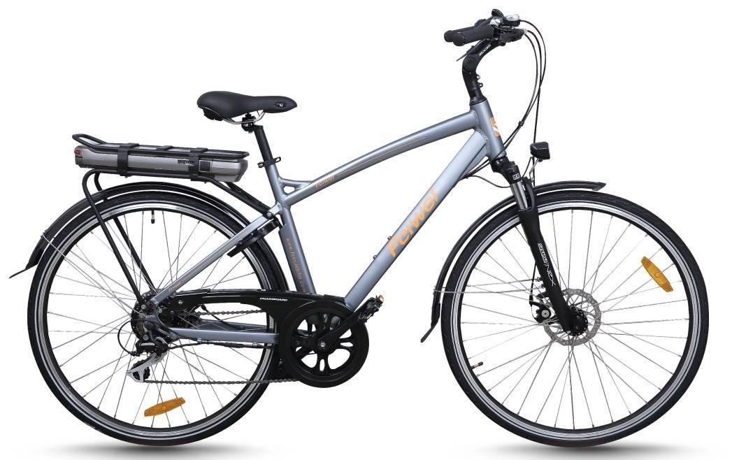 Mid-drive motor electric city bike (FR-TDB03Z)
