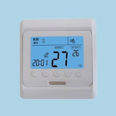 16A Large LCD Hot Water Radiant Heating and Electric Heating Cable Digital Program Thermostat
