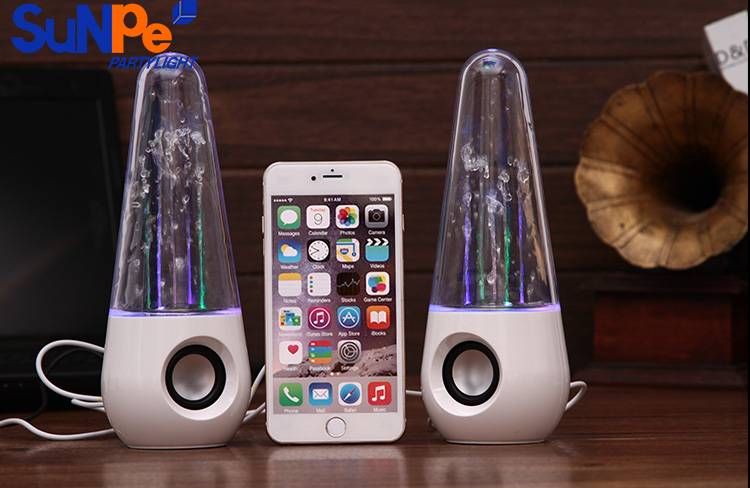 Dancing water tower speaker with bluetooth version