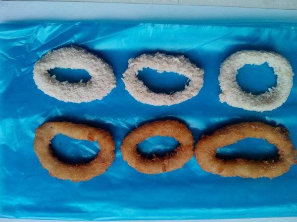 sell frozen breaded squid ring