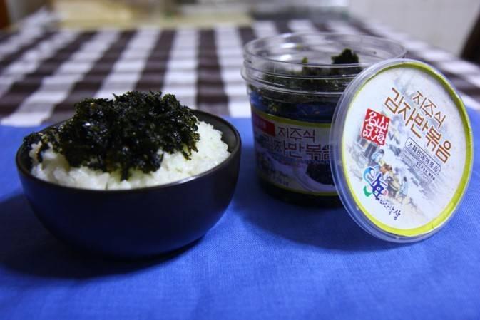 SESONED LAVER ( Jaban Gim) Sun in seaweed flakes