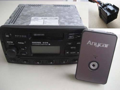 Digital CD MP3 (USB SD CAR MP3 Interface) for Ford