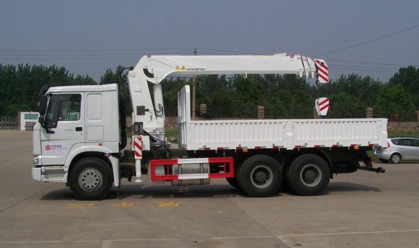 LUFENG ST5240JSQK 10T straight arm type Lorry-Mounted Crane/Lorry Crane/Lorry Loading Crane/Truck Cr