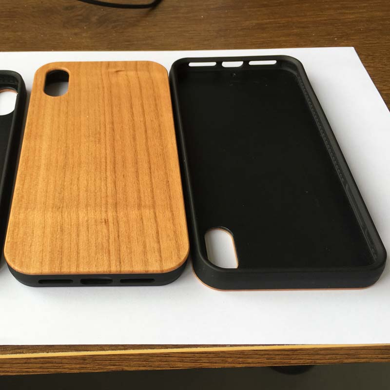 New Product Real Bamboo Wood Mobile Phones Cover Case for iPhone XS Max and samsung