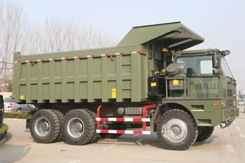 Mining Tipper/dump truck (6x4,8x4 transmission auto/manual)