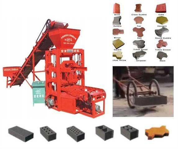 QTJ4-26 hollow block making machine