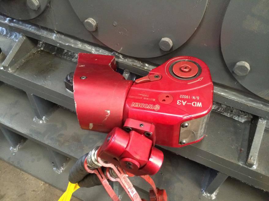 Hydraulic Wrench safty