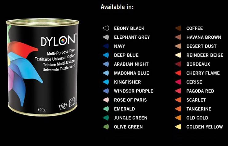 DYLON Multi-Purpose Dye, DYLON dyes, 500g