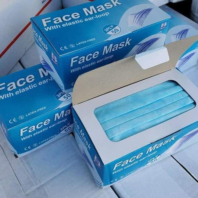 3PLY Disposable Face Masks and N95 Face Masks