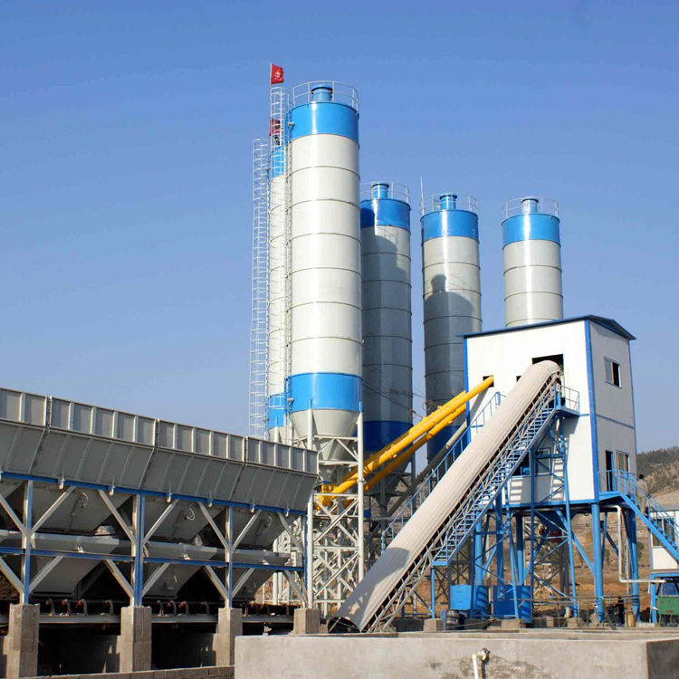 New Brand Mobile Concrete Batching Plant