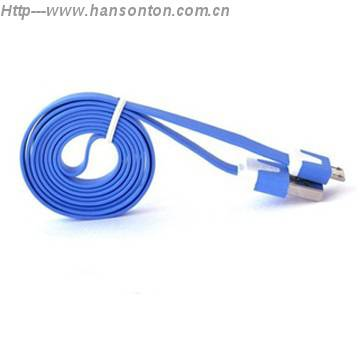 HOT Sale CE ROHS Fashion Flat Android USB Cable 2.0