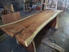Suar Slab Table Made for Order