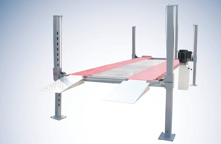5T capacity 4 post parking lift